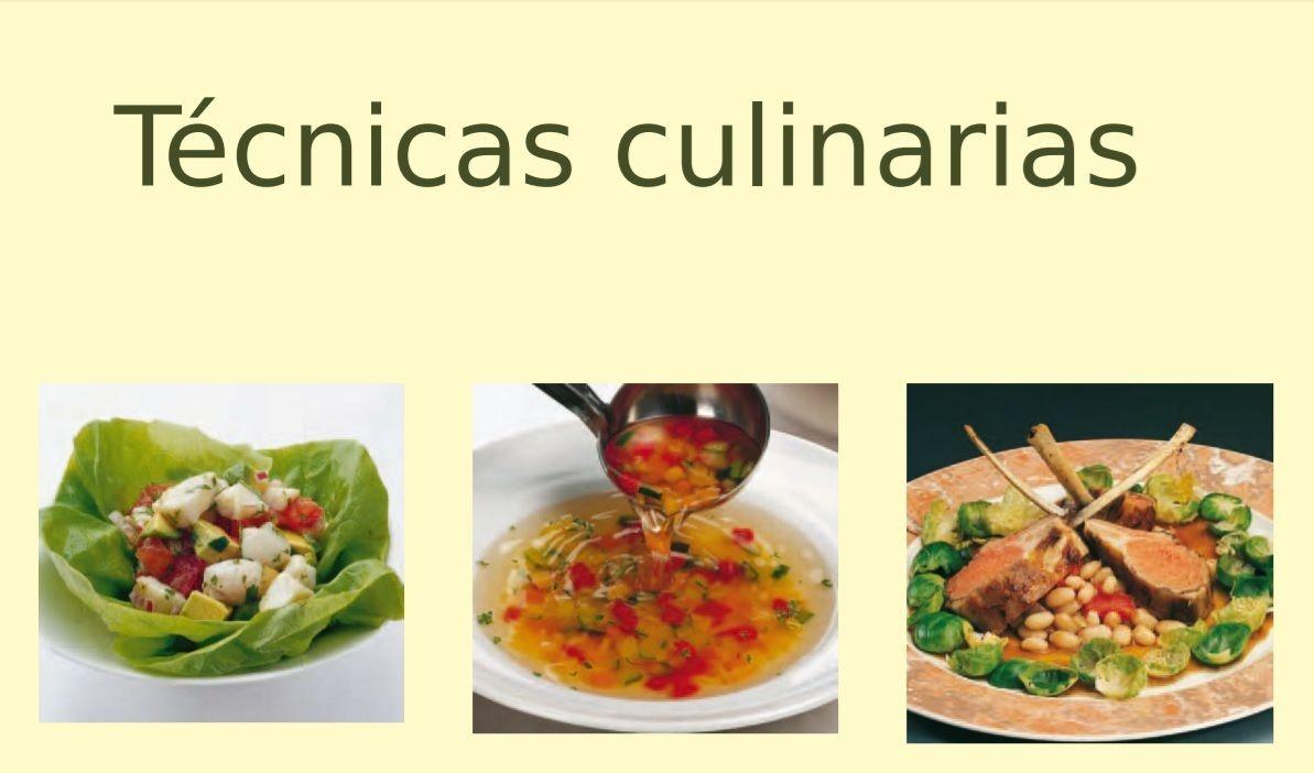 t cnicas culinarias guao