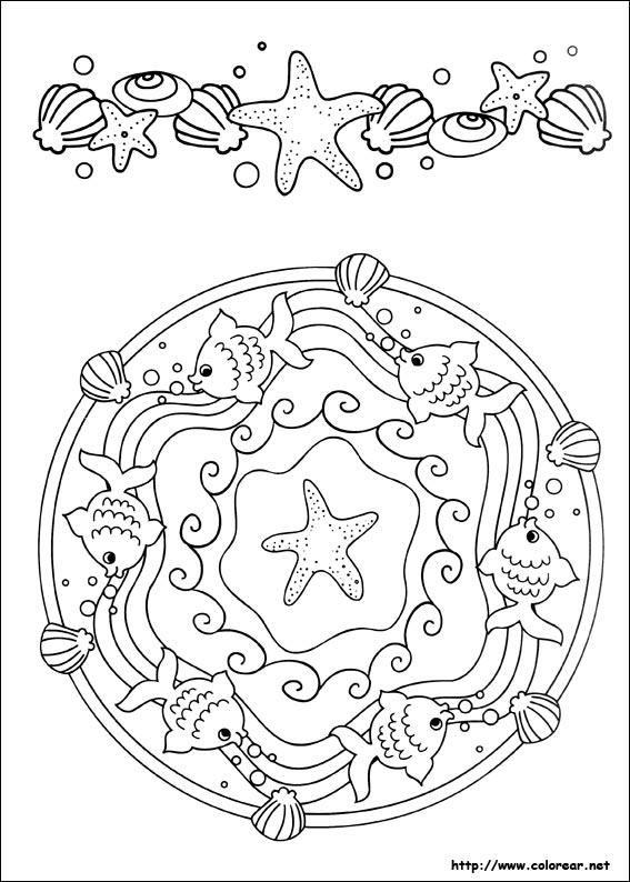 Mandalas Para Colorear Ninos De Quinto Grado
